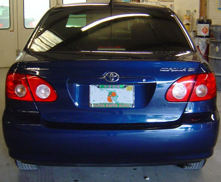 Guy's Automotive's Body Shop Tampa offers Toyota auto body collision repair work in Tampa, Florida